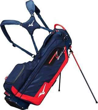 Picture of Mizuno BR-D3 Stand Bag - Navy/Red