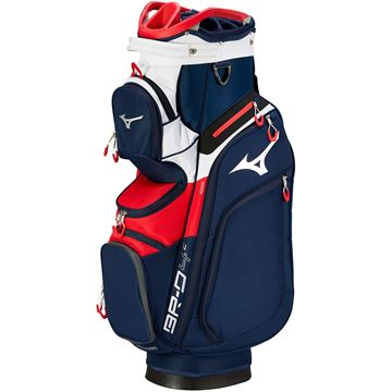 Picture of Mizuno BR-D4 Cart Bag 2019 - Navy/Red