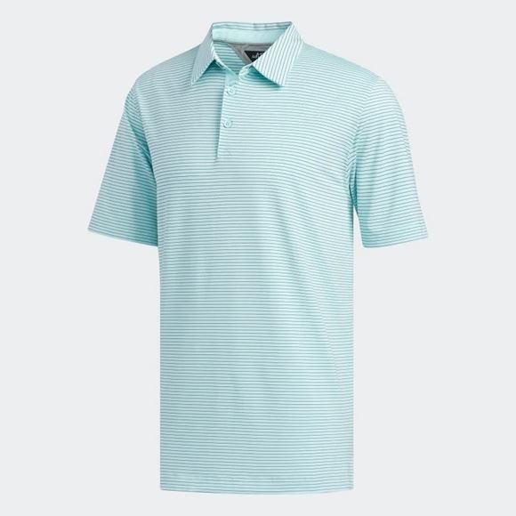 Picture of Adidas Mens adiPure Tech StripePolo Shirt - EH4693