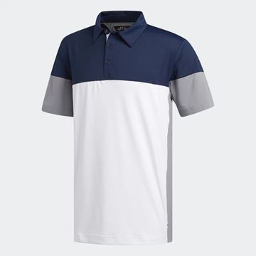 Picture of Adidas Mens adiPure Tech Segmented Polo Shirt - EK1281