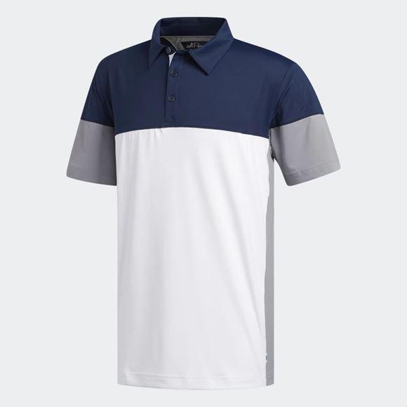 Picture of Adidas Mens adiPure Tech Segmented Polo Shirt - EK1281
