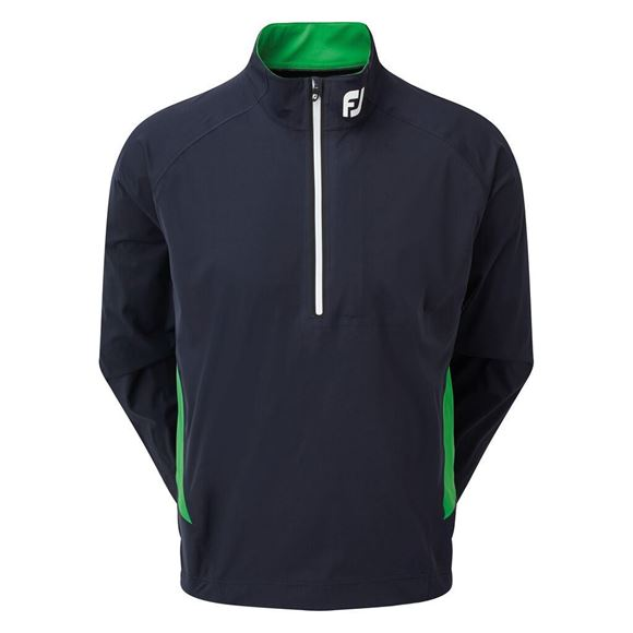 Picture of Footjoy Mens Hydroknit 1/2 Zip Rain Jacket - Navy