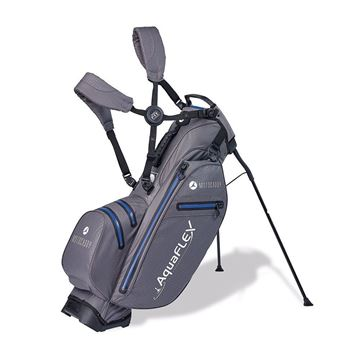 Picture of Motocaddy Aqua Flex Hybrid Stand Bag 2019 - Charcoal/Blue