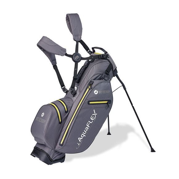 Picture of Motocaddy Aqua Flex Hybrid Stand Bag 2019 - Charcoal/Lime