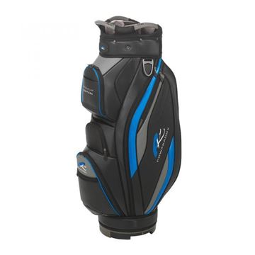 Picture of Powakaddy Premium Edition Cart Bag 2019 Black/Blue