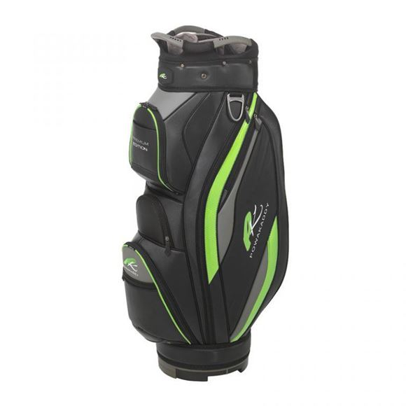 Picture of Powakaddy Premium Edition Cart Bag 2019 Black/Lime