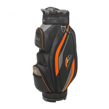 Picture of Powakaddy Premium Edition Cart Bag 2019 Black/Orange