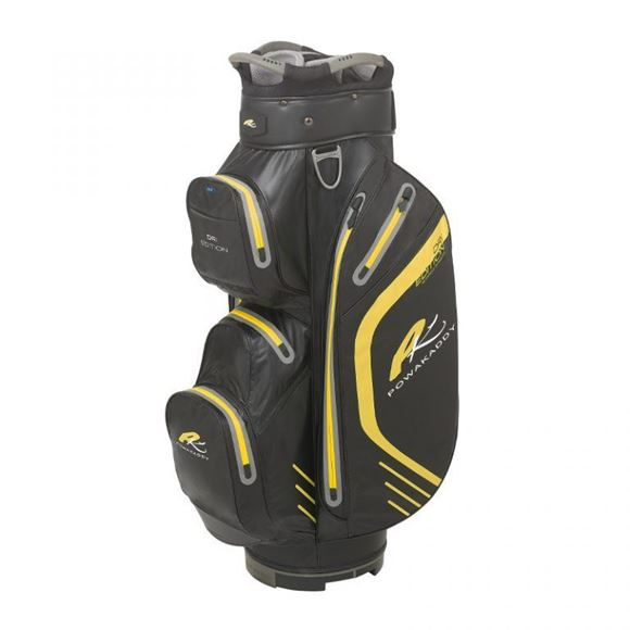 Picture of Powakaddy Dri Edition Waterproof Cart Bag 2019 - Black/Yellow
