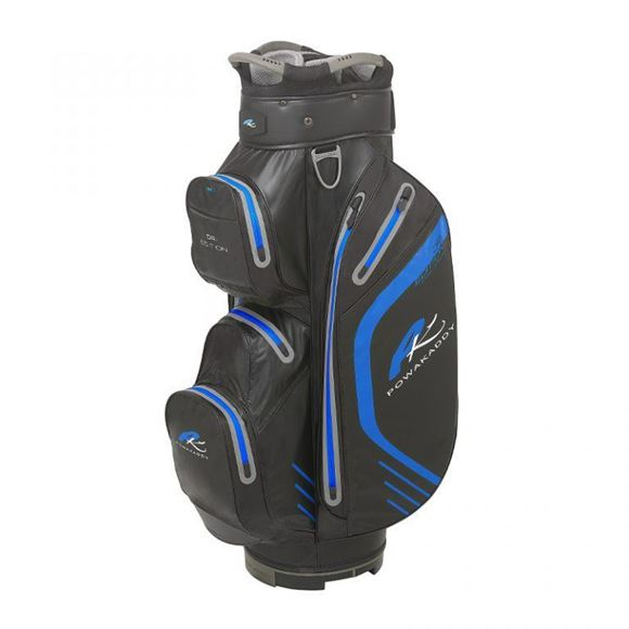 Picture of Powakaddy Dri Edition Waterproof Cart Bag 2019 - Black/Blue