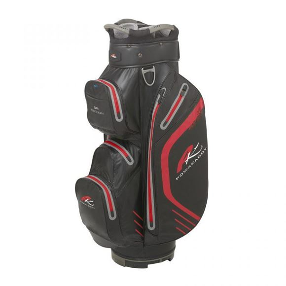 Picture of Powakaddy Dri Edition Waterproof Cart Bag 2019 - Black/Red