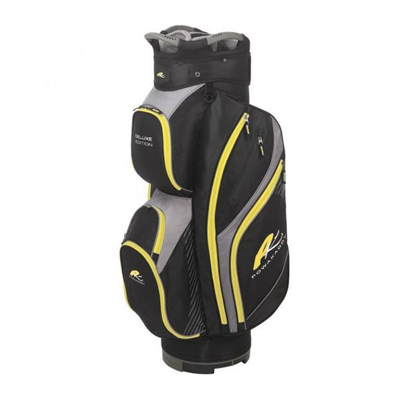 Picture of Powakaddy Deluxe Cart Bag 2019 - Black/Yellow/Grey
