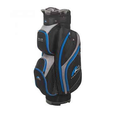 Picture of Powakaddy Deluxe Cart Bag 2019 - Black/Blue/Grey