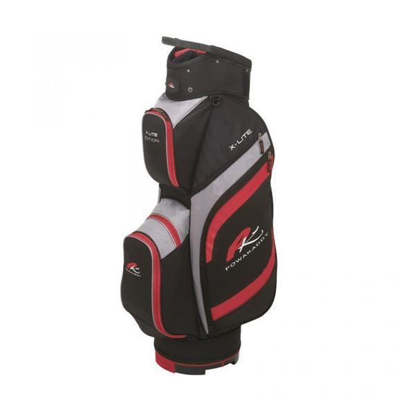 Picture of Powakaddy X-Lite Edition Cart Bag 2019 - Black/Red/Grey
