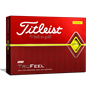 Picture of Titleist  Tru Feel Golf Balls - 1 Dozen - Yellow