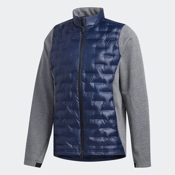 Picture of Adidas Mens Frostguard Insulated Jacket - Blue/Grey