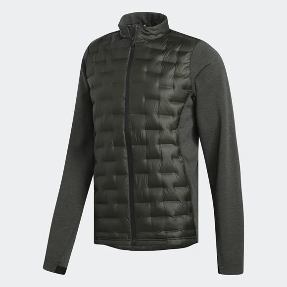 Picture of Adidas Mens Frostguard Insulated Jacket - Dark Green