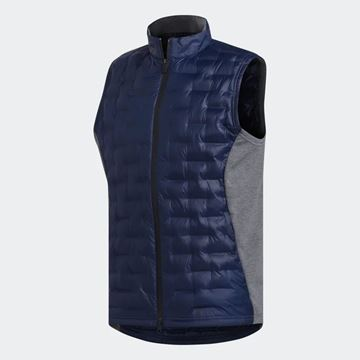 Picture of Adidas Mens Frostguard Insulated Vest - Blue/Grey