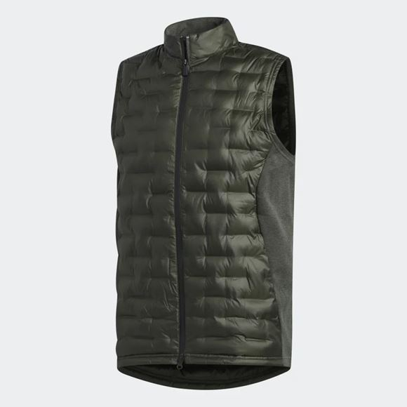 Picture of Adidas Mens Frostguard Insulated Vest - Dark Green