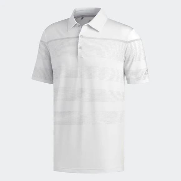 Picture of Adidas Mens Ultimate 365 Dash Stripe Polo Shirt - DQ2384