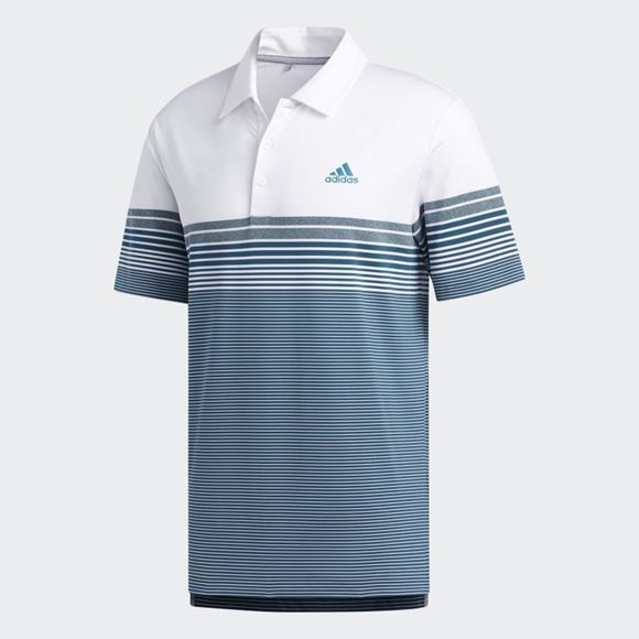 Picture of Adidas Mens Ultimate 365 Gradient Polo Shirt - FK9744