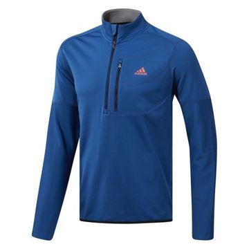 Picture of Adidas Mens Gridded 1/4 Zip Pullover - DT6665