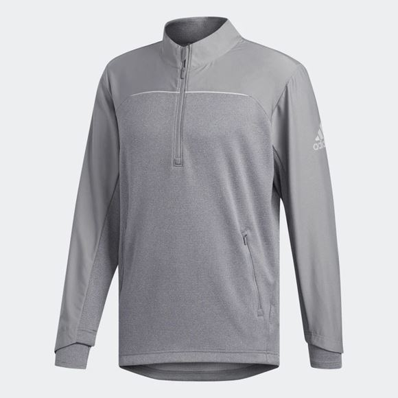 Picture of Adidas Mens Go-To Adapt 1/4 Zip Pullover - CY9385