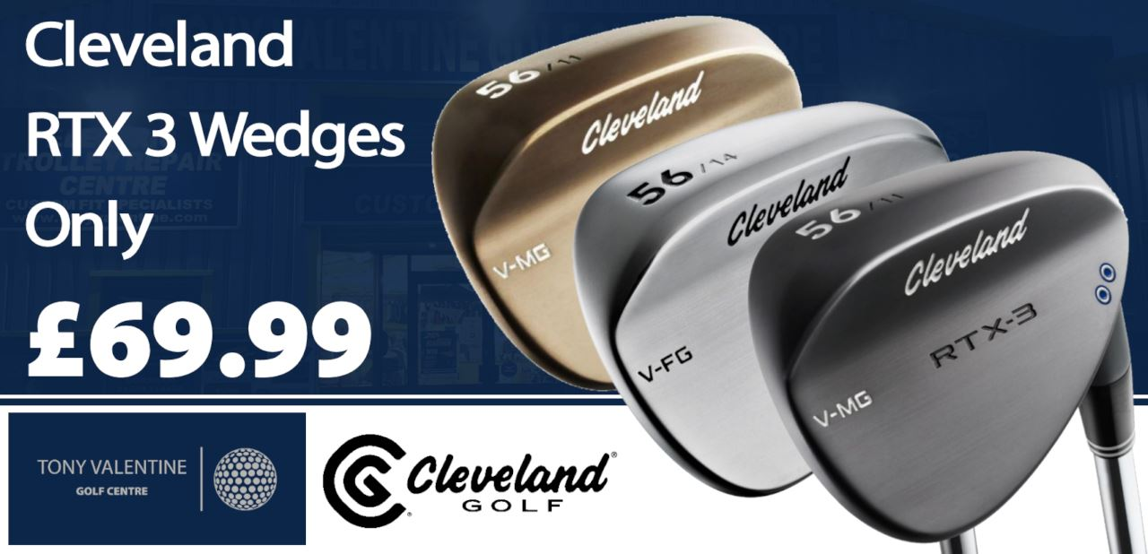 Cleveland RTX 3 Wedges, now only £69.99