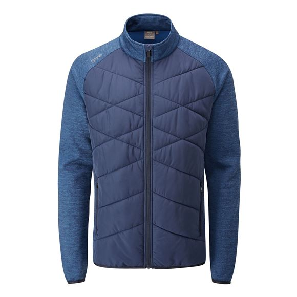 Picture of Ping Mens Breaker Jacket II - Oxford Blue