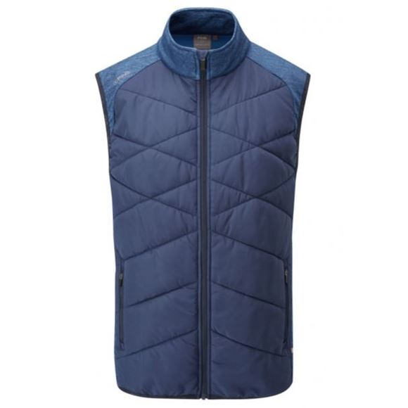 Picture of Ping Mens Breaker Vest II - Oxford Blue