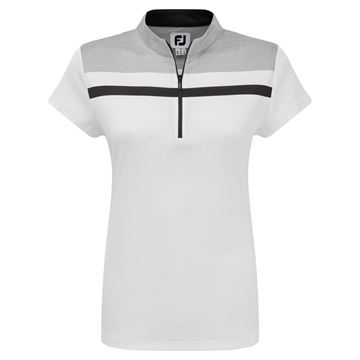 Picture of Footjoy Ladies Micro Interlock Colour Block Shirt - 96046