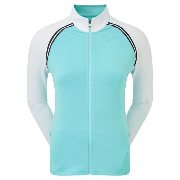 Picture of Footjoy Ladies French Terry Full Zip Pullover Jacket - 96059