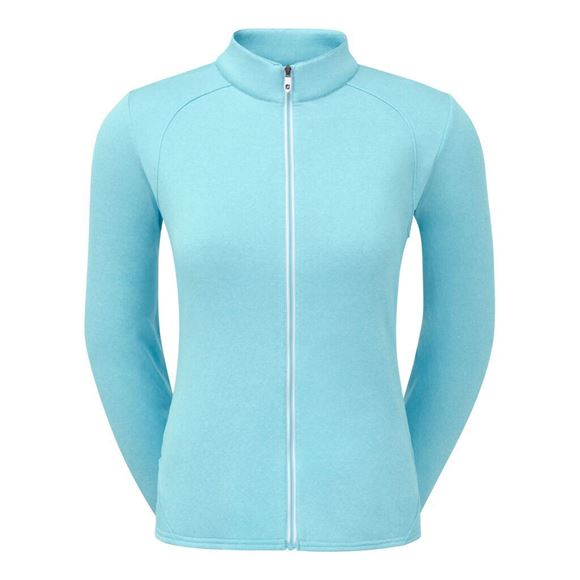Picture of Footjoy Ladies Full Zip Chillout Pullover - 96066
