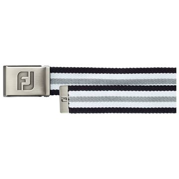 Picture of Footjoy Canvas Belt - Black/White/Charcoal