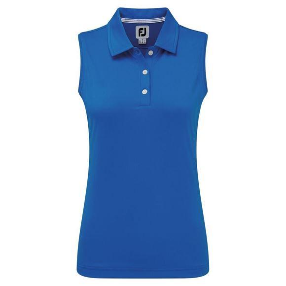 Picture of Footjoy Ladies Interlock Sleeveless Solid Shirt - 96038