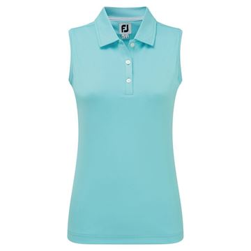 Picture of Footjoy Ladies Interlock Sleeveless Solid Shirt - 96039