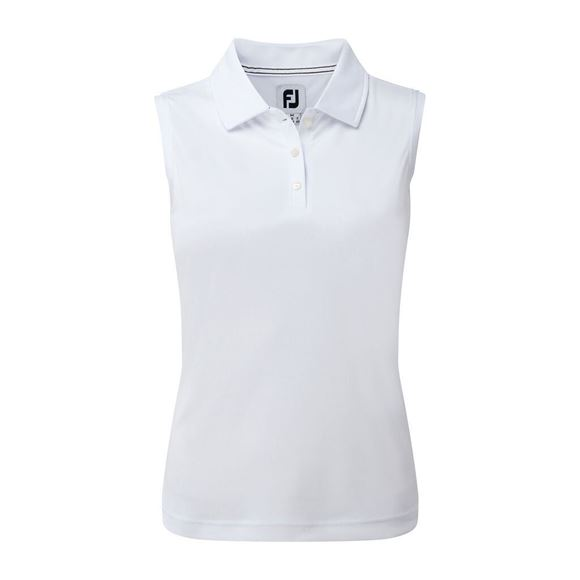 Picture of Footjoy Ladies Interlock Sleeveless Solid Shirt - 94331