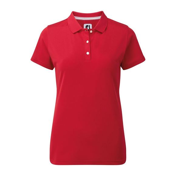 Picture of Footjoy Ladies Stretch Pique Solid Shirt - 94324