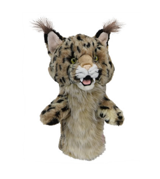 Picture of Daphne's Animal Headcover - Bobcat