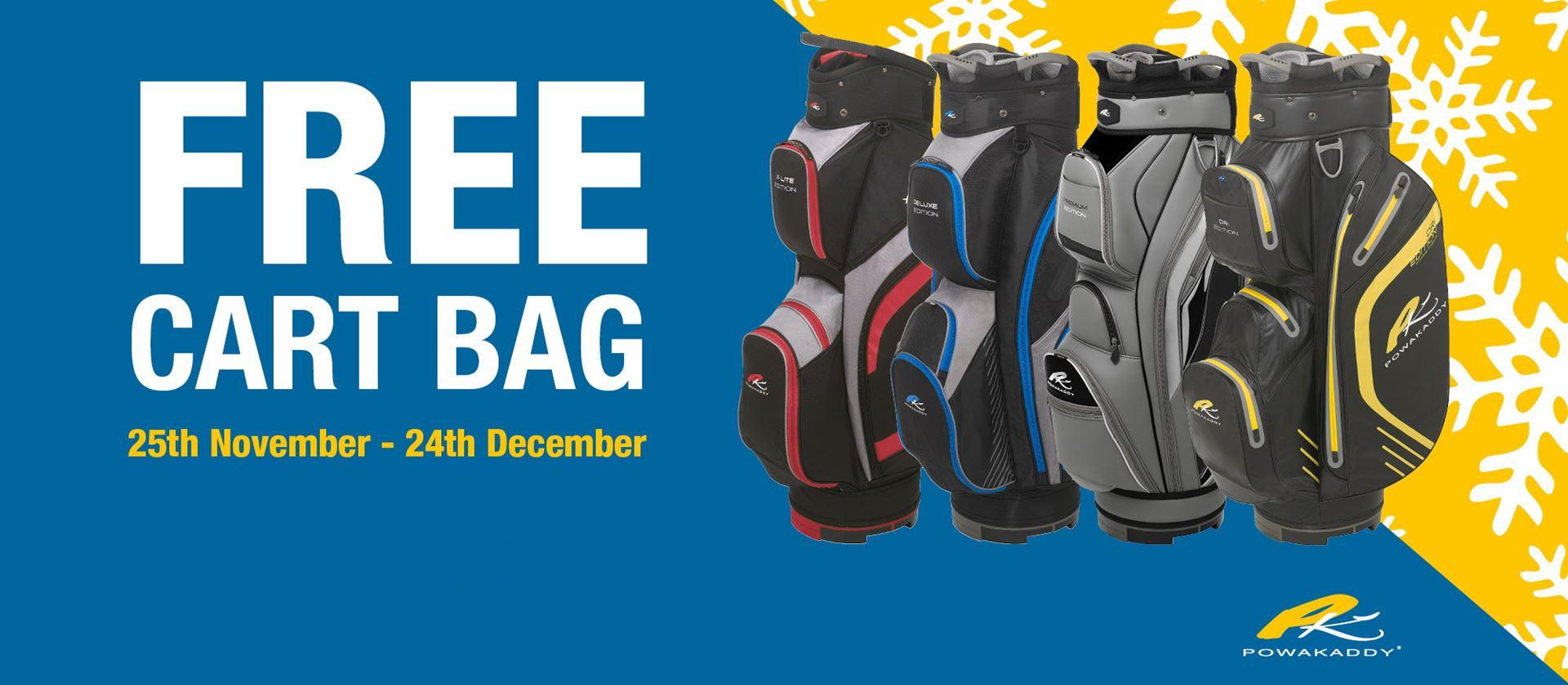 Free Bag with Powakaddy Trolleys