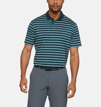 Picture of Under Armour Mens Performance Polo 2.0 Divot Stripe Shirt 1342082-431