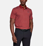 Picture of Under Armour Mens Performance Polo 2.0 Divot Stripe Shirt 1342082-610
