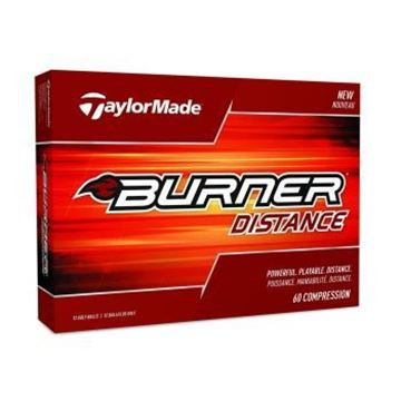 Picture of TaylorMade Burner Golf Balls - White