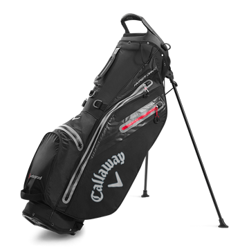 Picture of Callaway Hyper Dry C Stand Bag  - Black/Charcoal (2020)