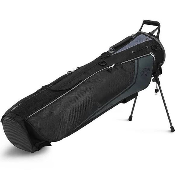 Picture of Callaway Double Strap Carry Plus Pencil Bag - Black (2020)