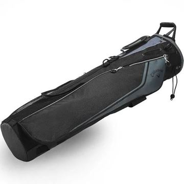 Picture of Callaway Double Strap Carry Pencil Bag - Black (2020)