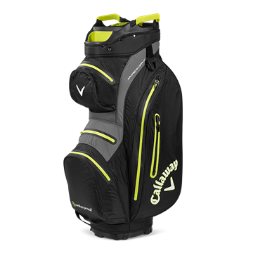 Picture of Callaway Hyper Dry Cart Bag - Black/Yellow (2020)