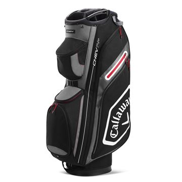 Picture of Callaway Chev 14+ Cart Bag - Black/Charcoal (2020)