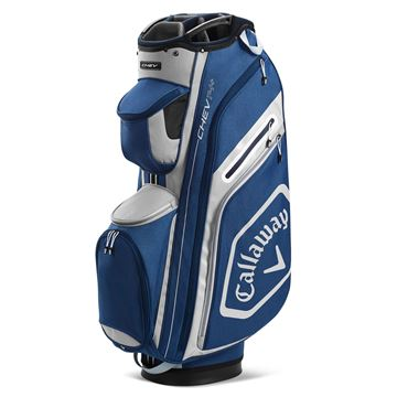 Picture of Callaway Chev 14+ Cart Bag - Navy/Silver (2020)