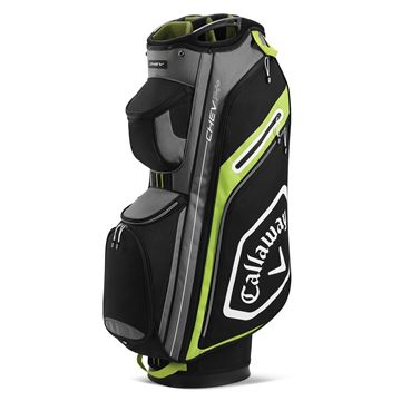 Picture of Callaway Chev 14+ Cart Bag - Black/Yellow (2020)