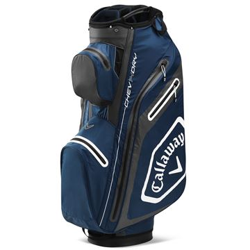 Picture of Callaway Chev Dry Cart Bag - Navy/Charcoal (2020)